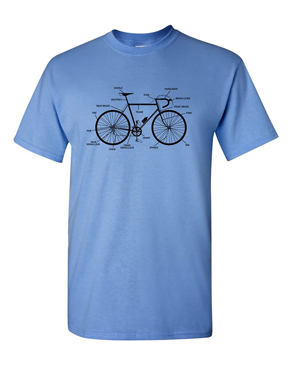 4ef11313 Thread Science Bike Bicycle Anatomy Hipster History Funny Adult Humor Men's  T-Shirt