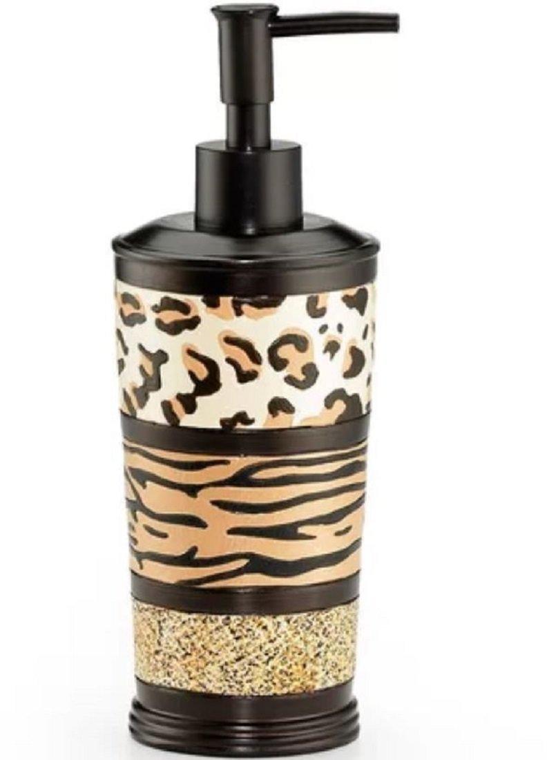 Royal Bath Wild Safari Extra Heavy Resin Lotion Dispenser/Soap Pump (8.5'' H x 3'' Dia)