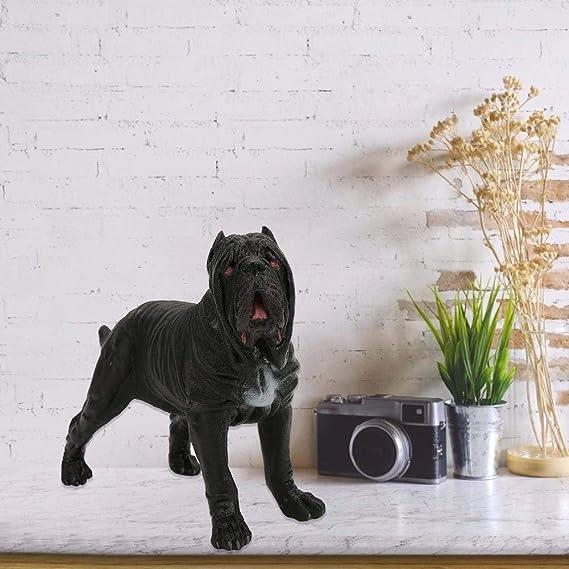 Zoo 2x Wild Farm Neopolitan Mastiff Dog Animal Model Figure Toy