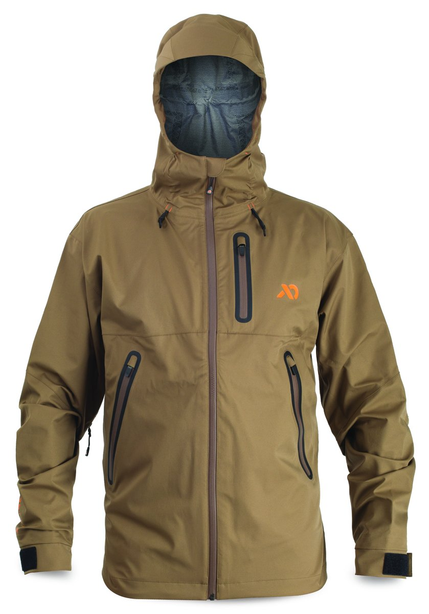 First Lite - SEAK Stormtight Rain Jacket in Dry Earth LG - Dry Earth