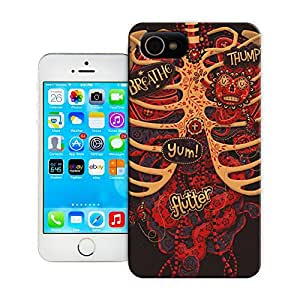 BreathePattern-Mexican Day Of The Dead -Apple iPhone 4 case