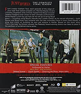 Justified: The Final Season [Blu-ray + UltraViolet] from Sony Pictures Home Entertainment