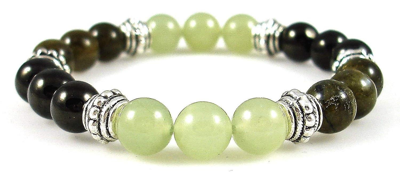 VERTIGO RELIEF 8mm Crystal Healing Gemstone Intention Bracelet