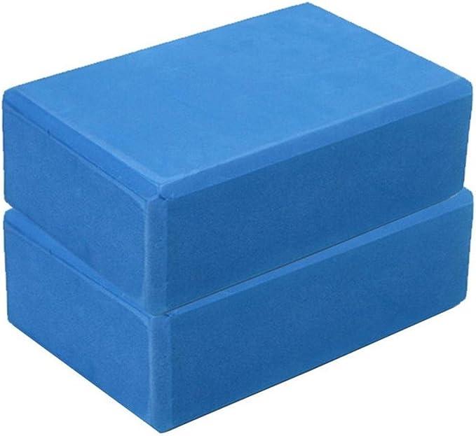 Kiorc Exercise Fitness Yoga Blocks Foam Bolster Pillow Cushion EVA Gym Training