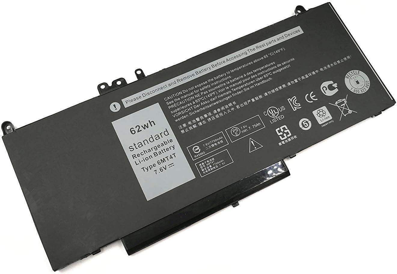 Hubei 6MT4T Batería para portátil para DELL Latitude E5470 E5570 ...