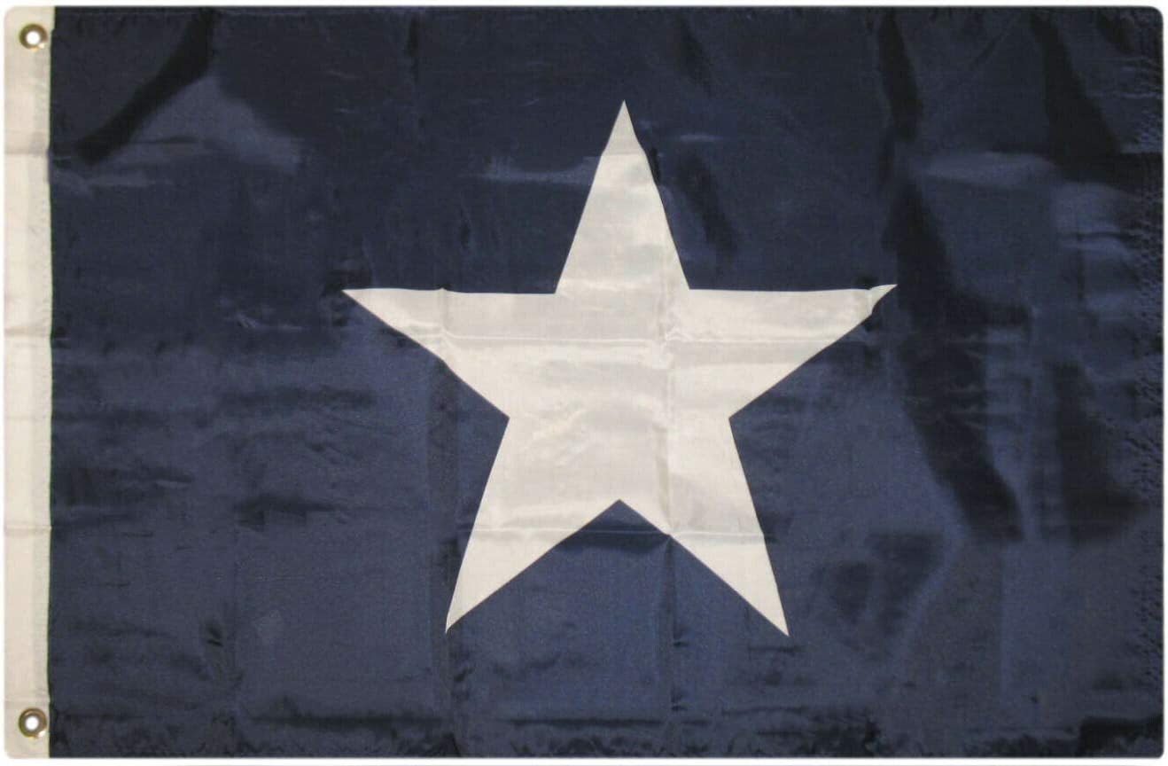 SUPERPUPERFLAG ONE New Garden 2x3 Bonnie Blue Star Historical Flag 2'x3' House Banner Grommets for Your Garden, Home and Any Parties, All Weather Indoors Outdoors, in Any Weather