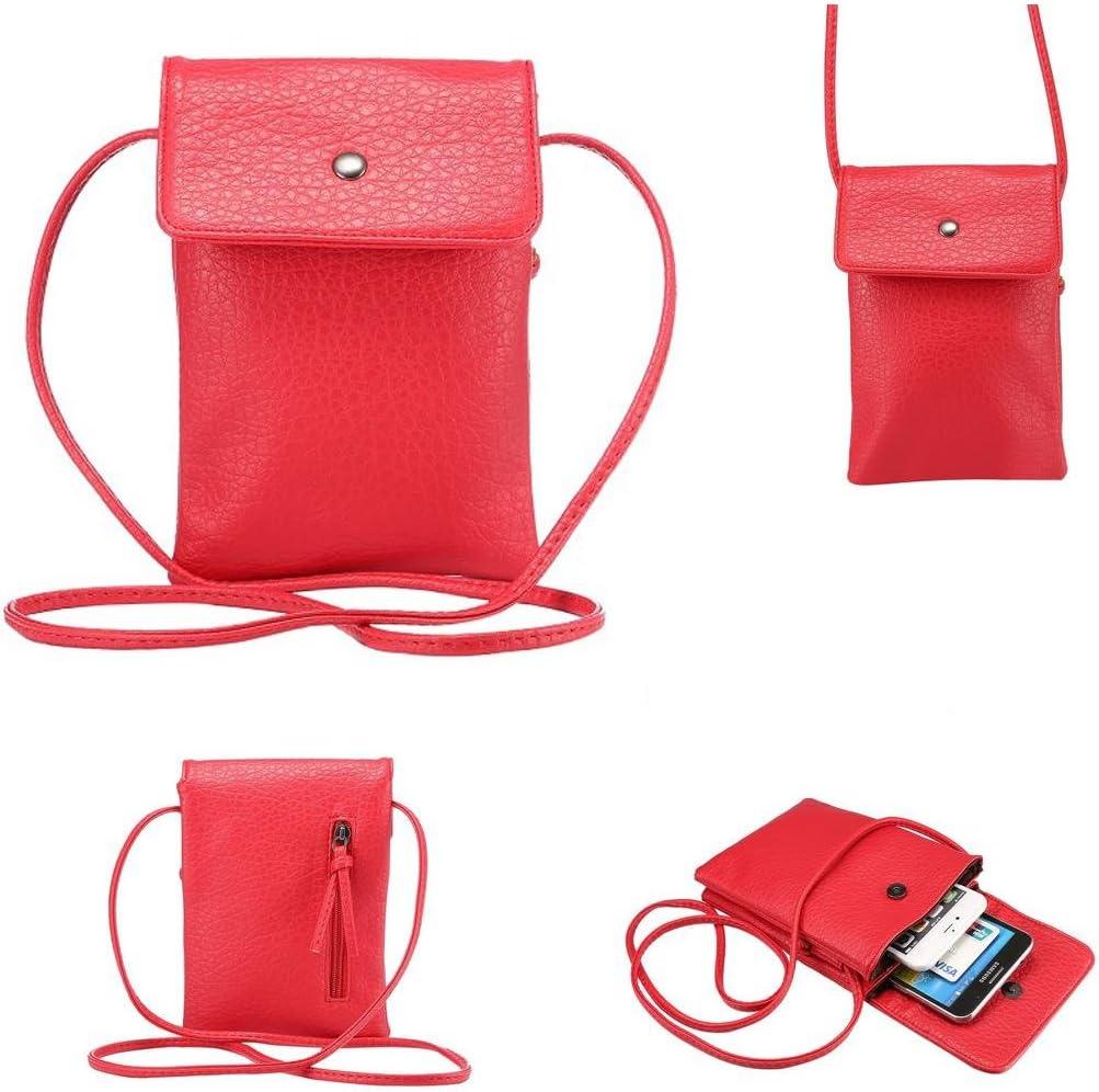 NEW Sling Bag fit large phone /& eyeglass Small Crossbody Bag gadget case Passport Purse travel pocket Handmade bag gray turquoise teal