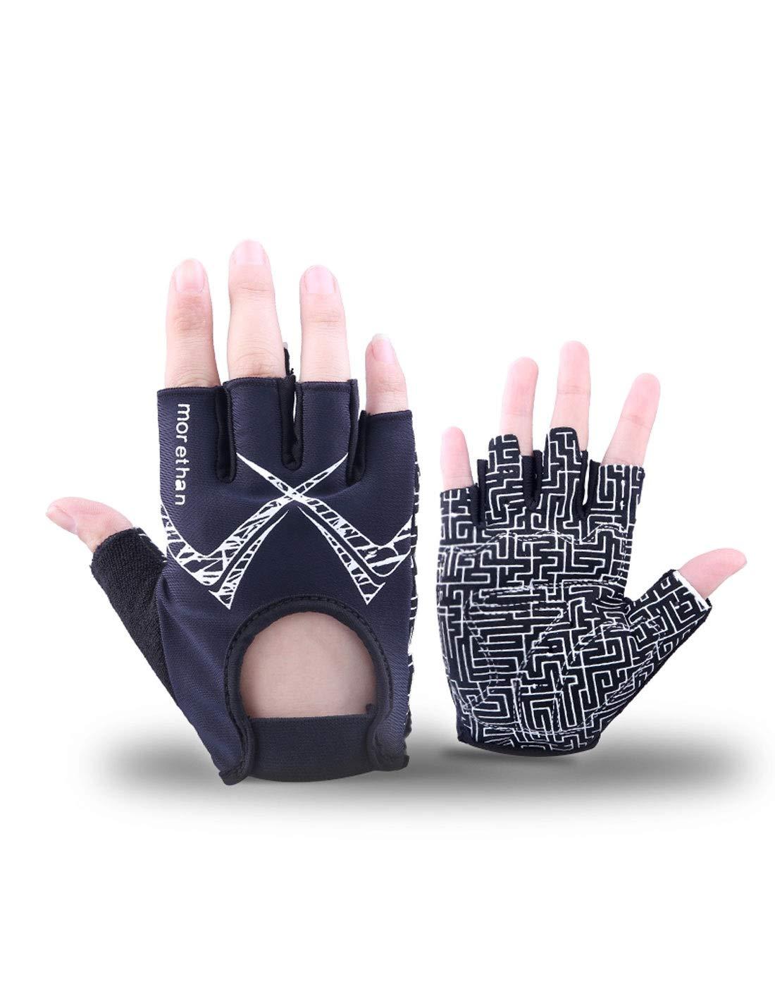 Deportes al aire libre medio dedo guantes hielo seda silicona ...