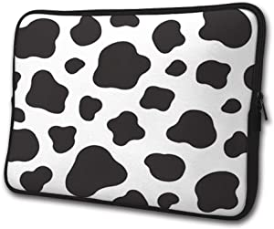 SWEET-YZ Laptop Sleeve Case Cow Print Notebook Computer Cover Bag Compatible 13-15 Inch Laptop