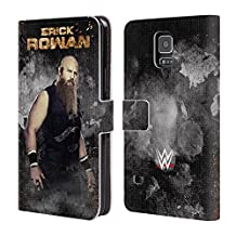 Official WWE LED Image Erick Rowan Leather Book Wallet Case Cover For Samsung Galaxy Note 4