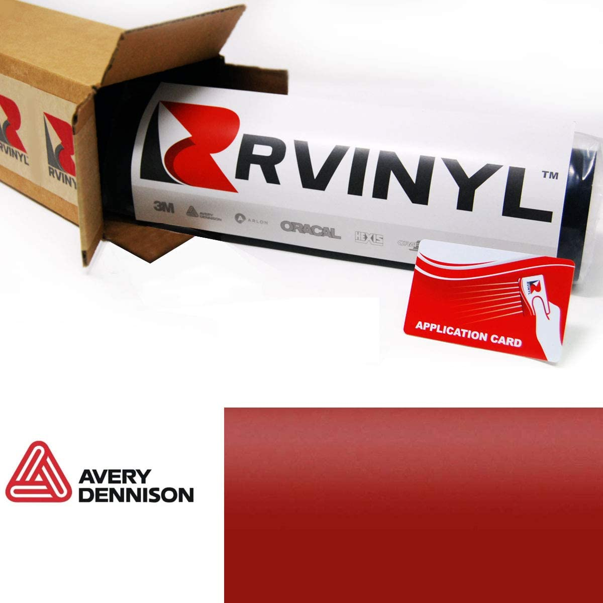 Avery SW900 682-O Satin Dark Blue Supreme Wrapping Film Vinyl Vehicle Car Wrap Sheet Roll 12 x 60 w//Application Card