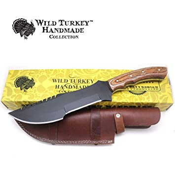 Amazon.com: Wild Turkey - Cuchillo de rastreador de cuchilla ...