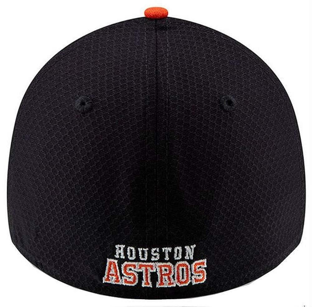 e67f0cab62b0d Amazon.com  New Era 2019 MLB Houston Astros Bat Practice Hat Cap 39Thirty  3930 BP 11900158  Clothing