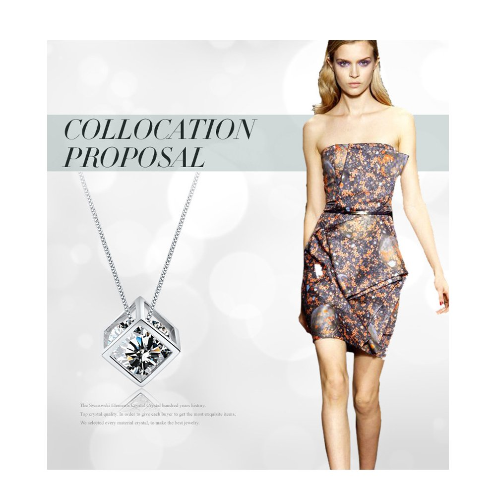 Collier Femme cristaux by bravetzx