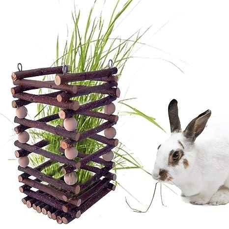Henera para Conejo Cobaya - Alimentador De Heno, Comedero De ...