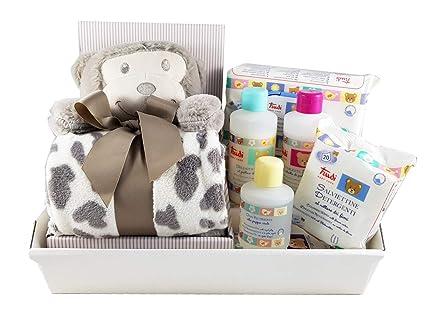 48a007475e Cesto Regalo Nascita Trudi per Neonato Kit Fai da te Idea regalo Baby  Shower: Amazon.it: Prima infanzia