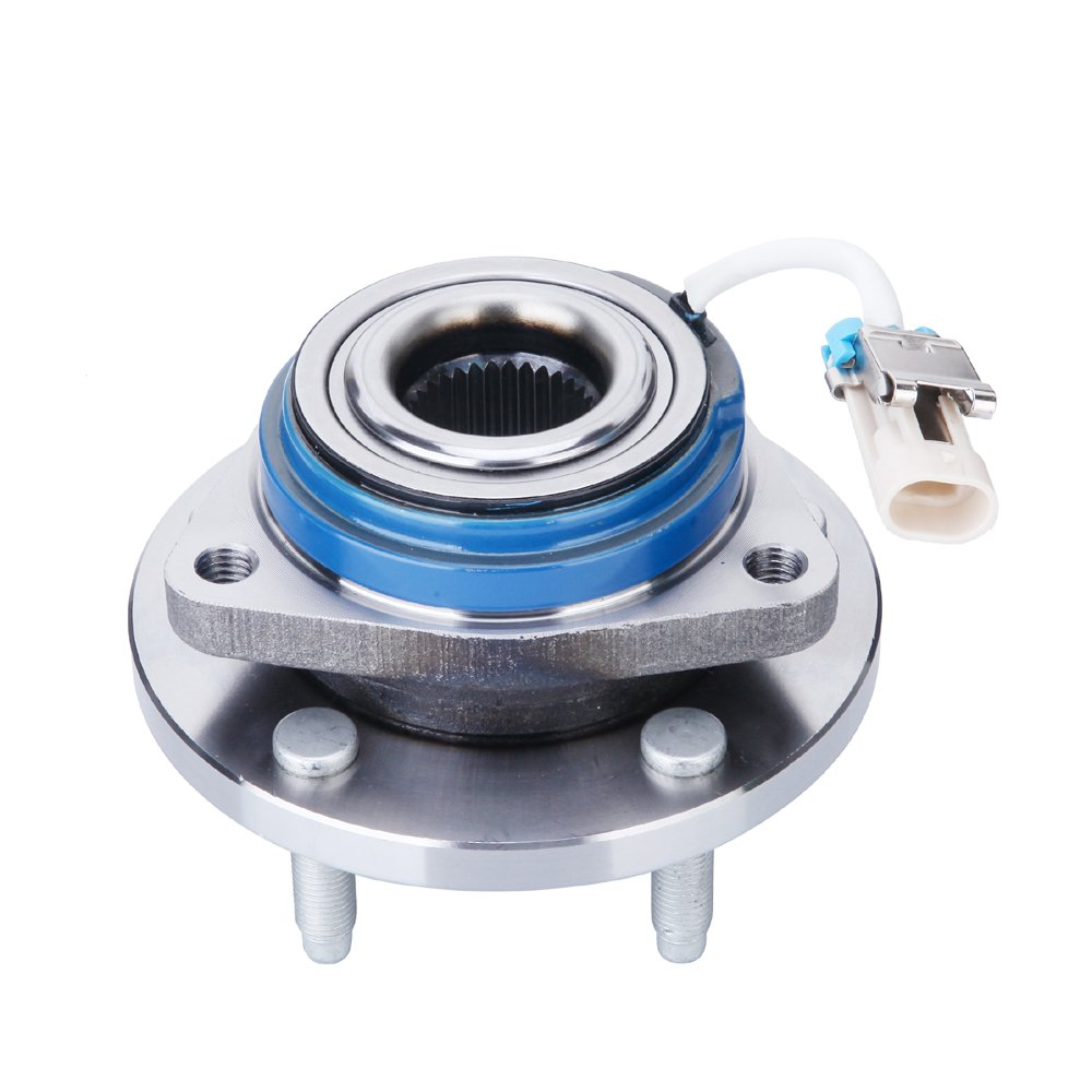FKG Wheel Hub Bearing Assembly 513121 for Pontiac Chevrolet Buick Oldsmobile Cadillac Saturn FWD Front Left and Right 5 Lug W/ABS