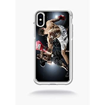 coque iphone xr transparente basketball