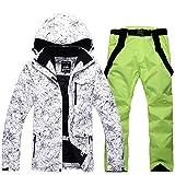 Men Waterproof Ski Jackets Winter Outdoor Coat Snow Snowboard Jackets Pants Set