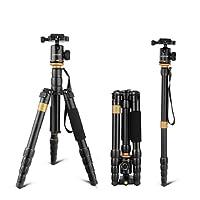 Treppiedi Andoer Monopiede / Cavalletto Fotografico Treppiede da Viaggio , Treppiede Reflex per Canon Nikon Sony DSLR Camera con Testa a Sfera