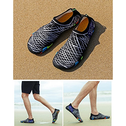 Mens Aqua Style Womens Shoes Diving Beach Swim 10 KINDOYO Exercise Wetsuit Yoga Surf a Snorkeling Swim TPx5wB4q