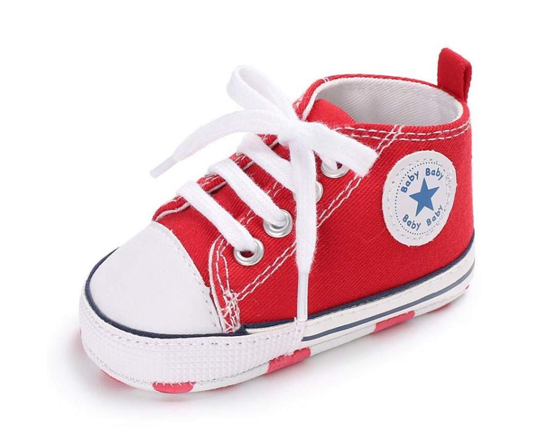 817cccaee Zapatos para bebé Auxma La Zapatilla de Deporte Antideslizante del Zapato de  Lona de la Zapatilla