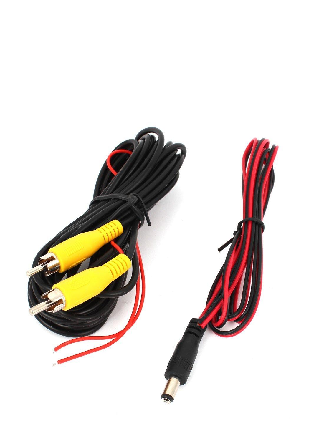 Amazon.com: Impermeable opinión posterior del coche del CCD de la cámara del revés w 4 LED Blanco: Car Electronics