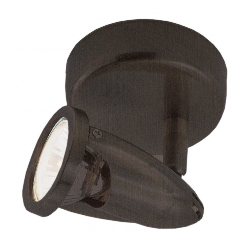 Transglobe Lighting W-460 ROB Track Light, Rubbed Oil Bronze Finished