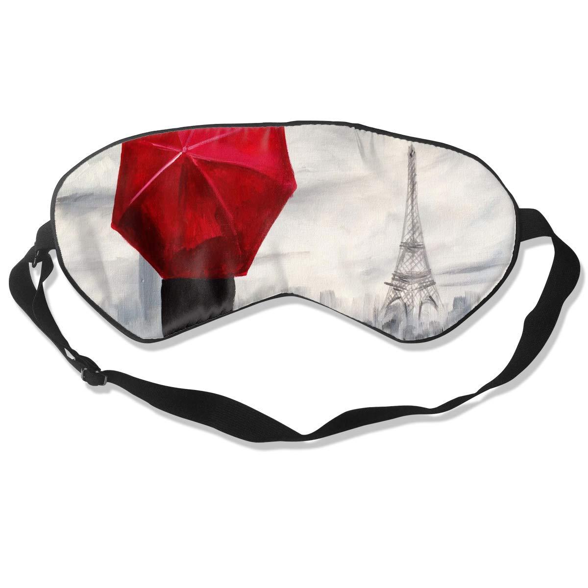 bf5d6a804e82 Amazon.com: Sleep Mask Art Rave-Raindrops in Paris Eye Mask Patch ...