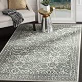 Safavieh Evoke Collection EVK216D Transitional Oriental Ivory and Grey Area Rug (4′ x 6′) Review