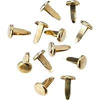 ESSELTE 48553 Metalware Paper Fastener Steel 9Mm Bx200 Brass