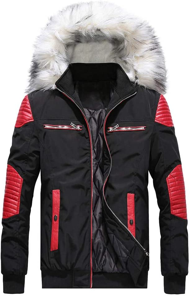 Daoroka Mens Knit Sweater Jackets Cardigan Autumn Winter Fashion Casual Stand Collar Coat Outwear Tops Parka Big Clearance