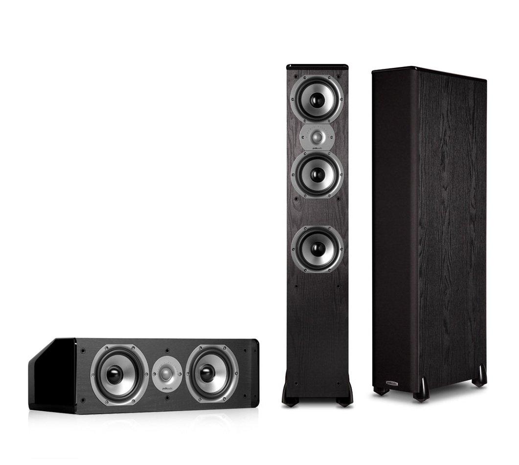 Polk Audio TSi400 3.0 Home Theater Speaker Package (Black) by Polk Audio