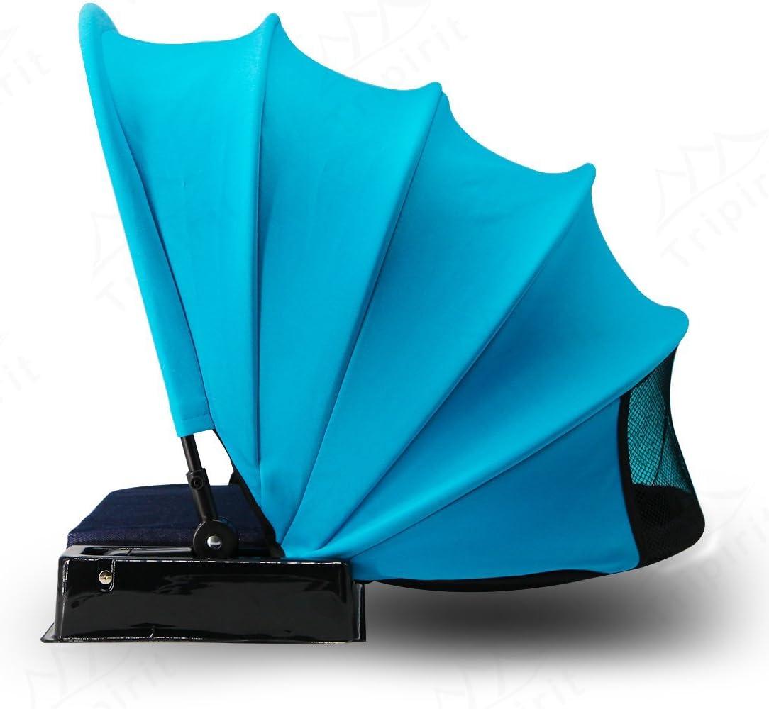 Tripirit Portable Sun Shade Canopy – Small Sun Beach Shader Beach Shelter, Sun Protection for Face While Sunbathing
