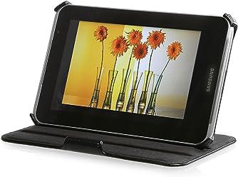 StilGut® UltraSlim Case V2, custodia con funzione di supporto per Samsung Galaxy Tab 2 7.0, nero