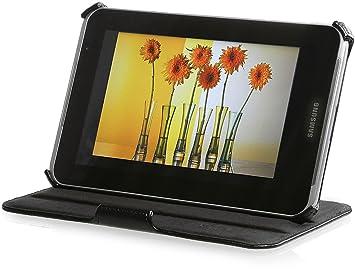 StilGut UltraSlim Case V2, Funda con Funcion de Soporte para el Original Samsung Galaxy Tab 2 7.0, Negro