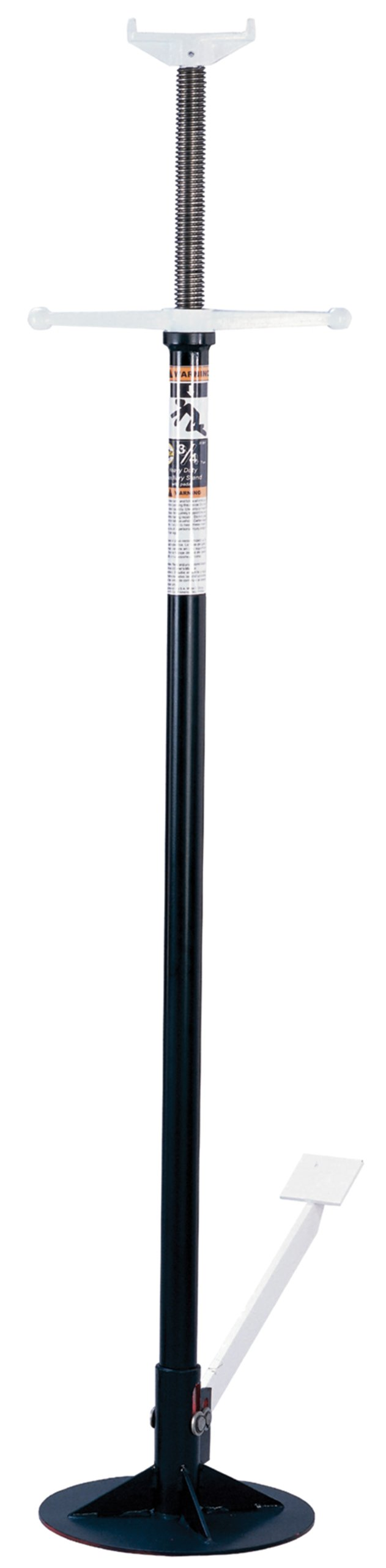 Omega 31501 Black Under Hoist Stand with Foot Pedal - 3/4 Ton Capacity by Omega