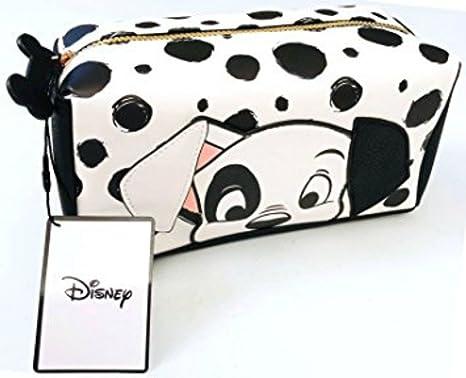 Primark Disney dálmata blanco y negro bolsa de maquillaje: Amazon.es: Belleza