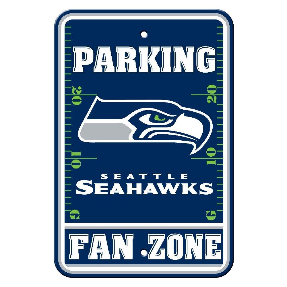NFL Seattle Seahawks Fan Zone Parking Sign Fremont Die 92214