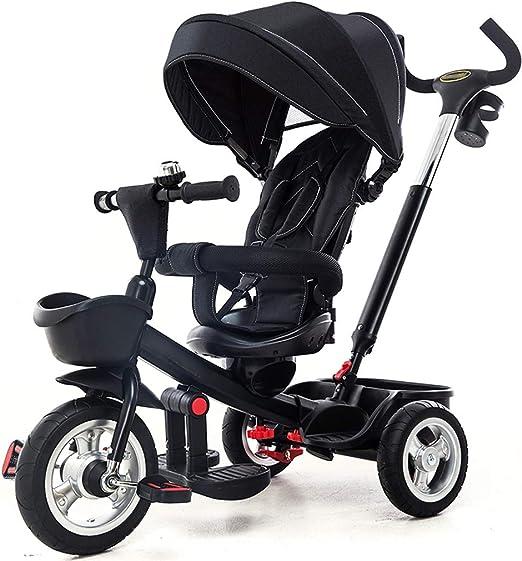 Jian E E-Carro Triciclo de niños Bicicleta Bebé Bicicleta 1-3-5 ...