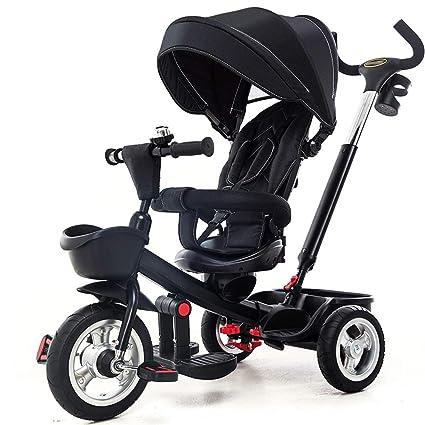 Jian E E-Carro Triciclo de niños Bicicleta Bebé Bicicleta 1-3-5 años ...