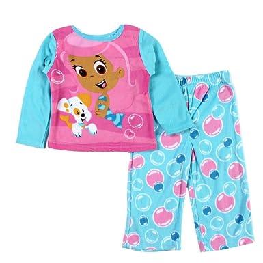 5bfeb7722 Amazon.com  Nick Jr Infant   Toddler Girls Fleece Sleepwear Set ...