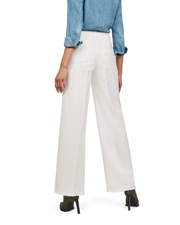 G Star Raw Page High Waist Wide Fringe Pantalones Para Mujer Pantalones