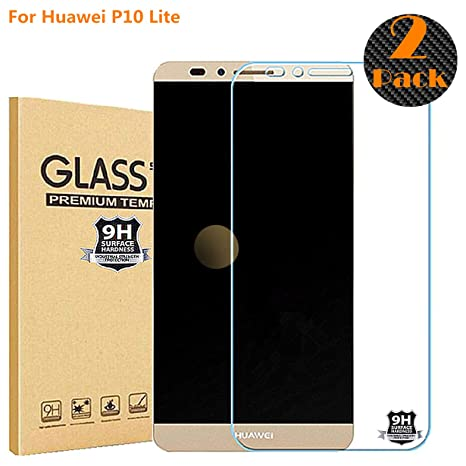 RUIST [2-Pack Protector Pantalla Huawei P10 Lite,[2.5D Borde Redondo