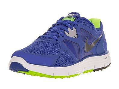 hot sale online 4de59 e3e11 Amazon.com | Nike Kid's Lunarglide 3 454568 401 Mega Blue ...