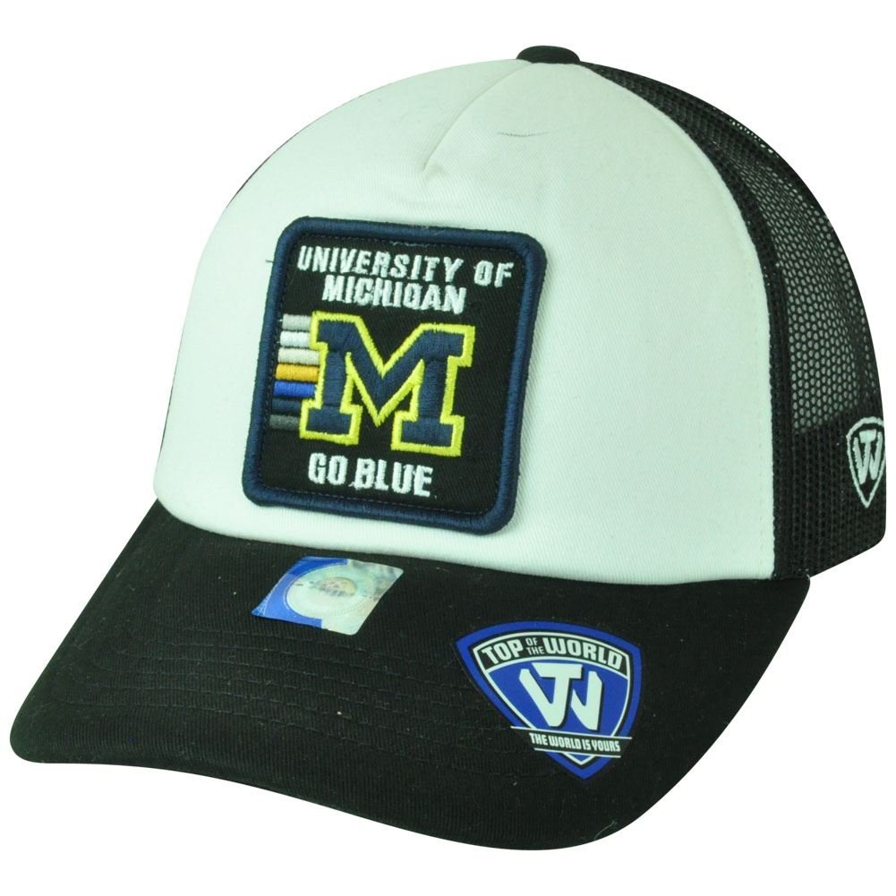 NCAA del mundo superior Michigan Wolverines desmayamos malla Gorra ...