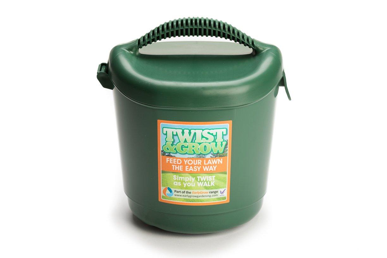 EarlyGrow MPL50072/L/P Twist and Grow Hand Held Lawn Spreader - Green Malton Plastics (UK) Ltd.