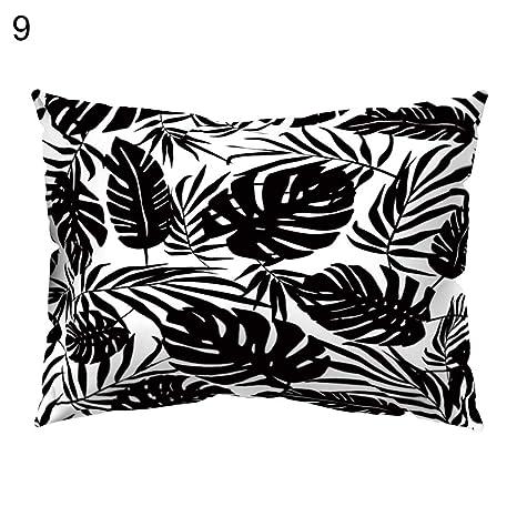 BeiYuSdBb - Funda de cojín para sofá, diseño de Plantas de ...