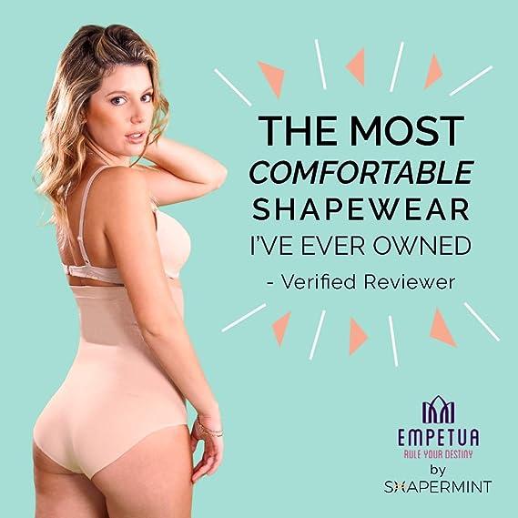 3b9e857020 Shapermint  Empetua Ultra-Thin High-Waisted Shaper Panty - Body Shaper at  Amazon Women s Clothing store