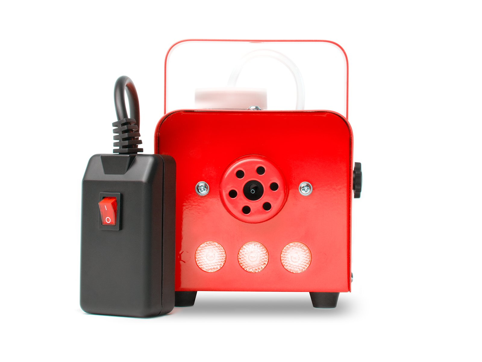 MARQ Fog 400 LED | 400W Water-Based Special Effects Fog Machine with Red-Color LED Lights (Red) by MARQ (Image #2)